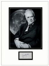 Patrick Moore Autograph Signed Display
